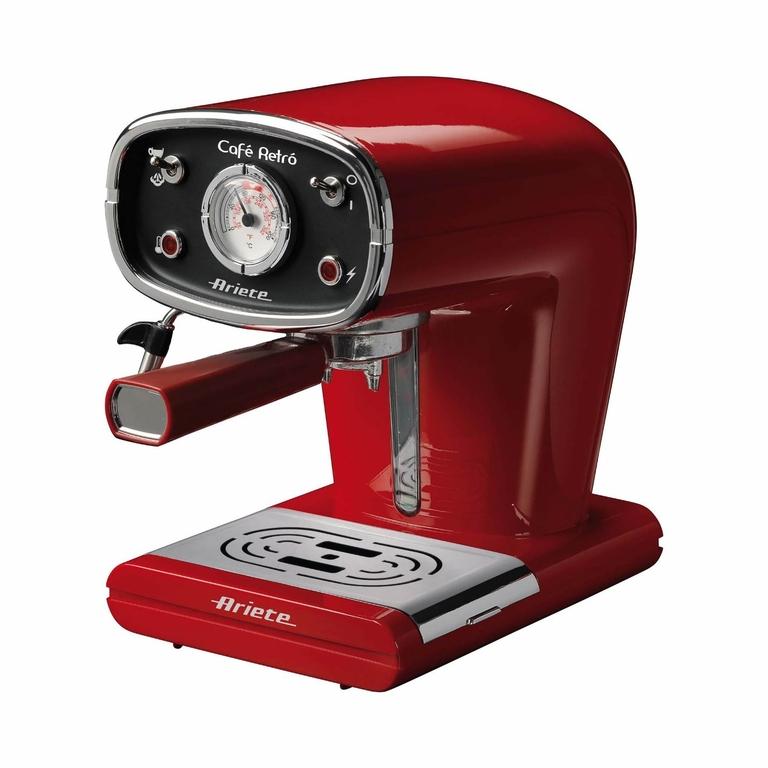 Кафемашина Ариете Cafe Retro Red, цвят червен, модел 1388, снимка 1