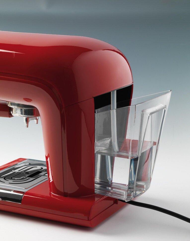 Кафемашина Ариете Cafe Retro Red, цвят червен, модел 1388, снимка 3