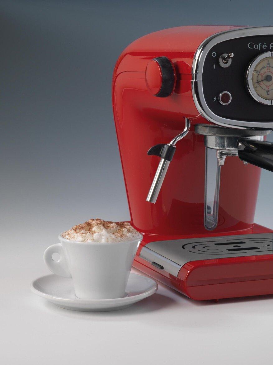 Кафемашина Ариете Cafe Retro Red, цвят червен, модел 1388, снимка 4